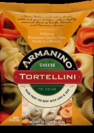 Armanino Tri Color Cheese Tortellini