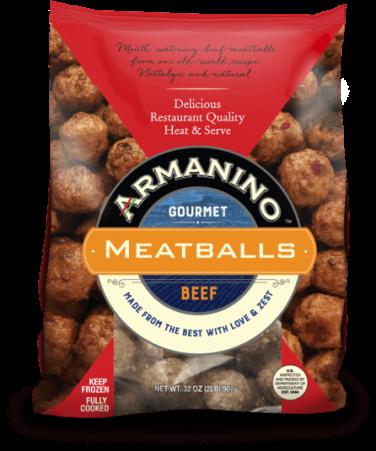 Armanino Gourmet Beef Meatballs