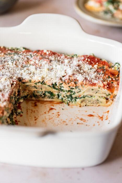 Ravioli Spinach Lasagna